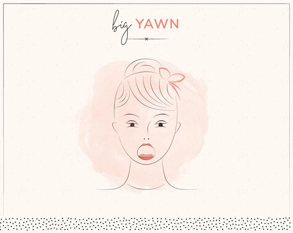 yoga trẻ hóa khuôn mặt big yawn