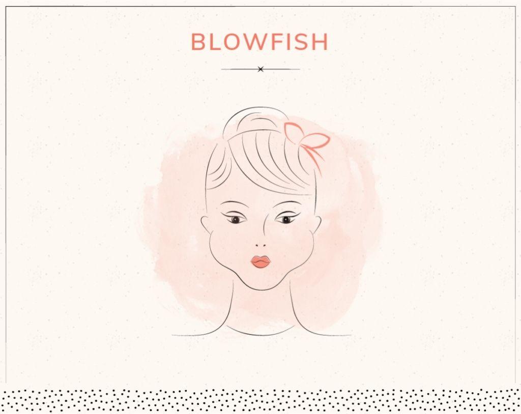 yoga trẻ hóa khuôn mặt blowfish