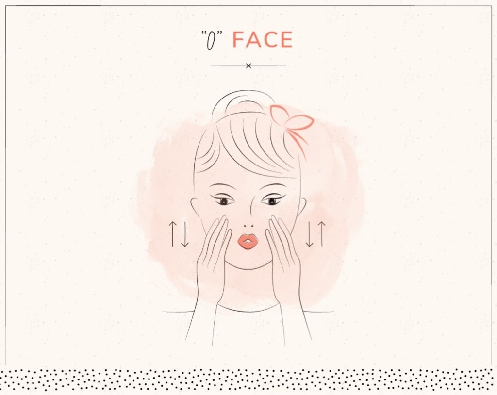 yoga trẻ hóa khuôn mặt o face