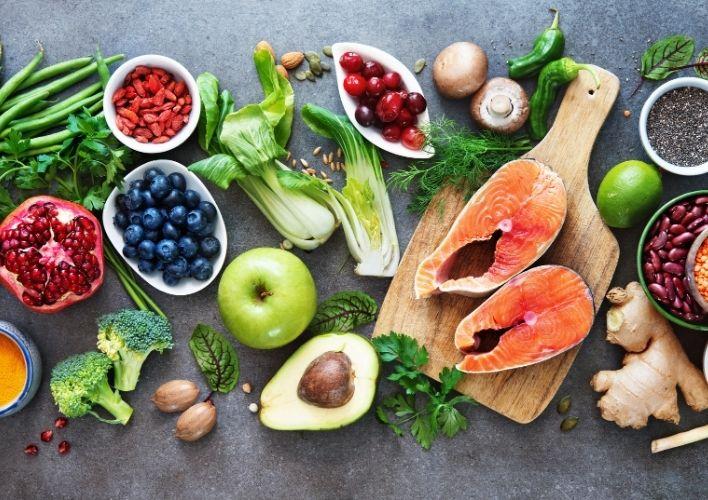 Chế độ ăn hợp lý Yoga giảm cân