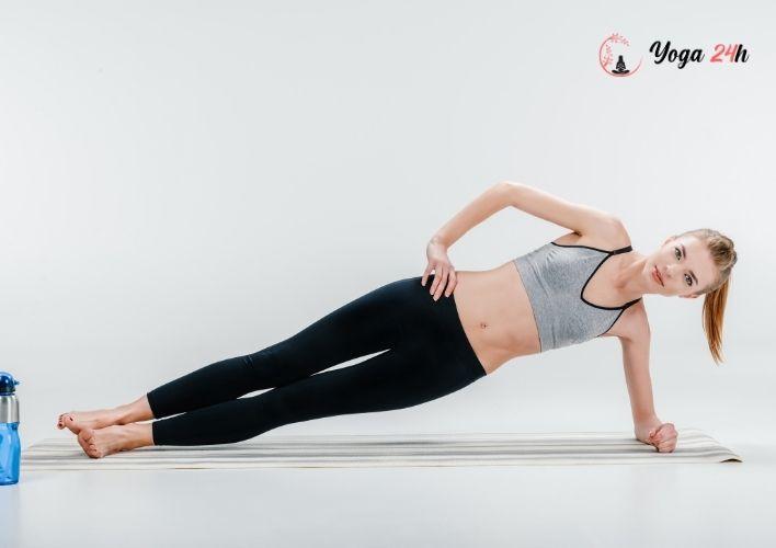 Yoga giảm cân side plank