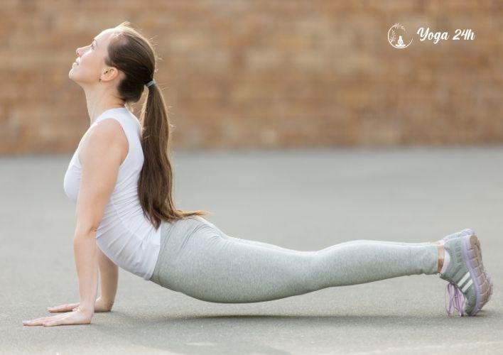 Yoga giảm cân tư thế chó ngửa mặt