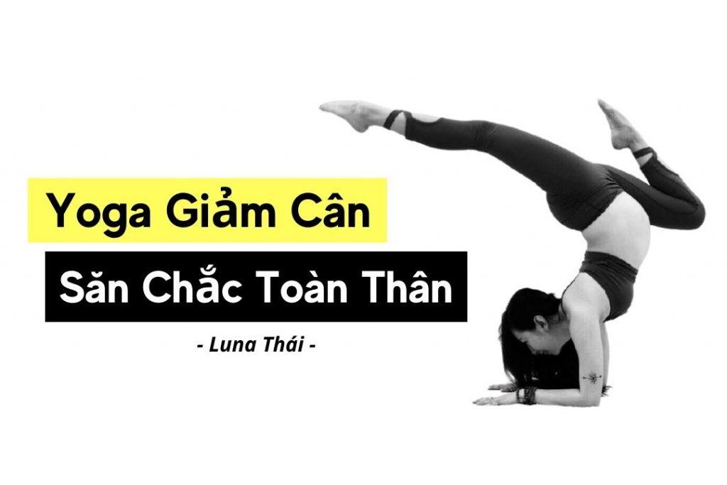 yoga giảm cân săn chắc toàn thân