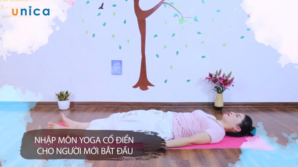 khóa học nhập môn yoga cổ điển