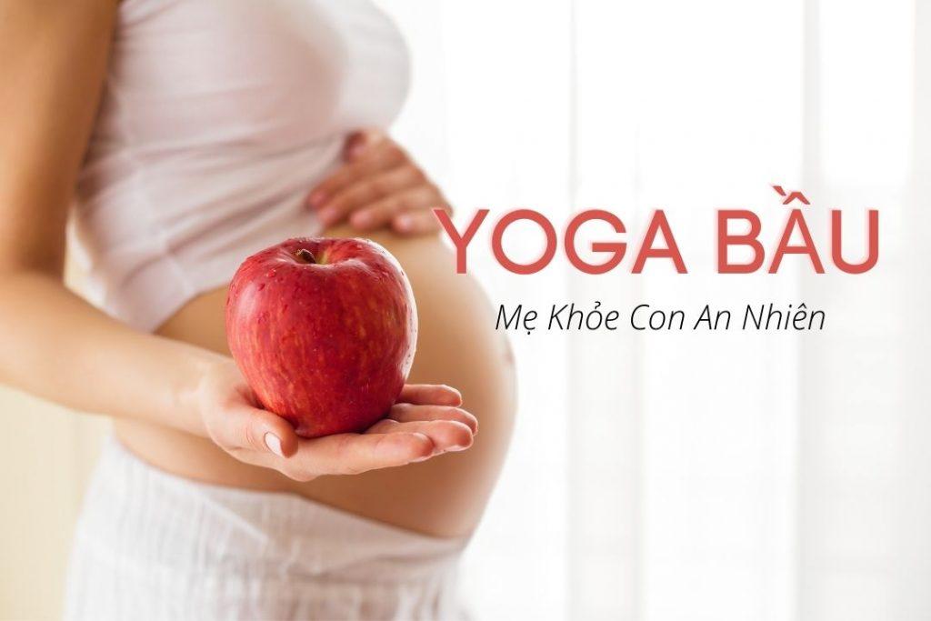 Khóa học yoga bà bầu
