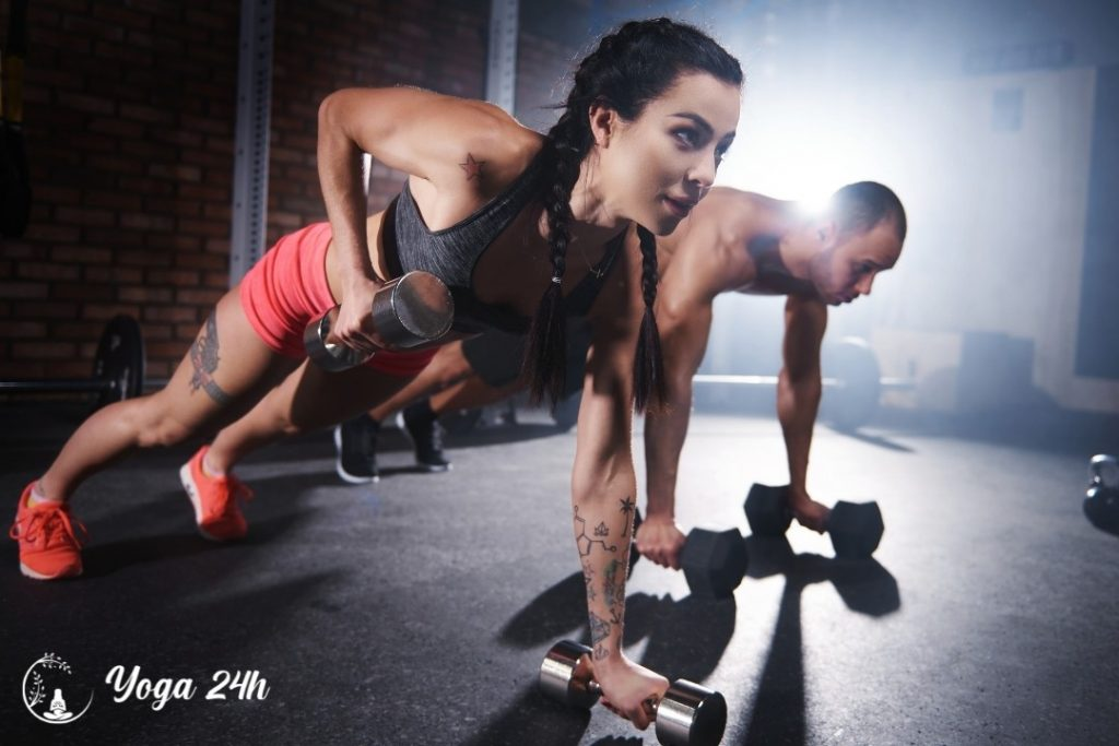 nữ tập Gym