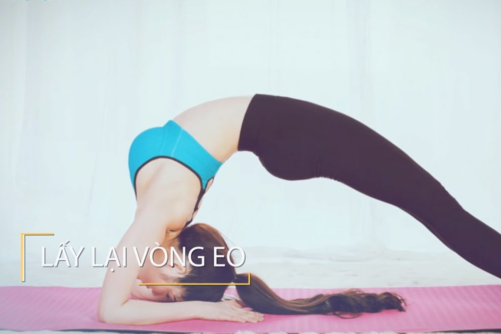 Yoga giảm eo giữ dáng - Nguyễn Hiếu