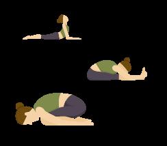 bài tập yoga trị đau thắt lưng và cột sống cổ