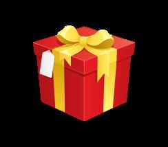 quà tặng icon