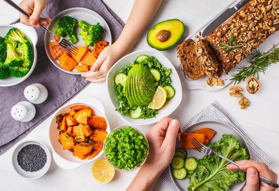 Thực phẩm dinh dưỡng cho cơ thể